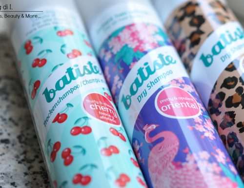 [Review] – Dry Shampoo Batiste: Cherry, Oriental & Wild