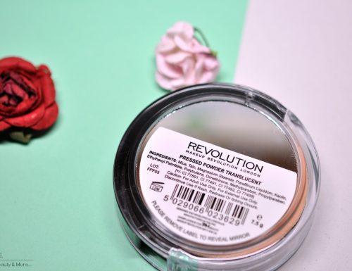 [Review] – Pressed Powder Traslucent Makeup Revolution