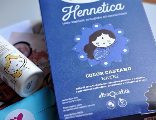 Linea Hennetica La Saponaria: la mia esperienza con lo Shampoo Purificante Pre-Tinta Avatara e la Tinta Ratri (castano scuro) + Foto del Prima&Dopo