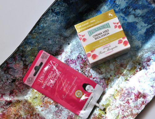 I Provenzali | Linea all'olio di Rosa Mosqueta: Maschera viso biologica purificante & Crema viso biologica antietà