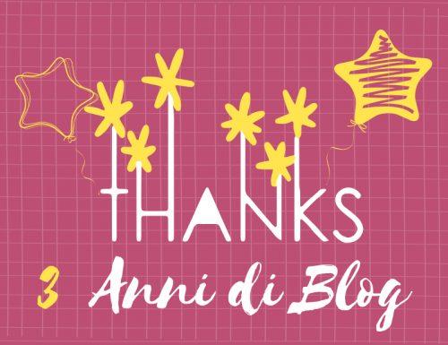 3 Anni di Blog ♥