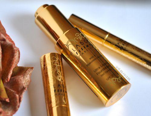 Labo Suisse Makeup: Ultra liquid foundation, Fine eyeliner & Long lasting lipstick