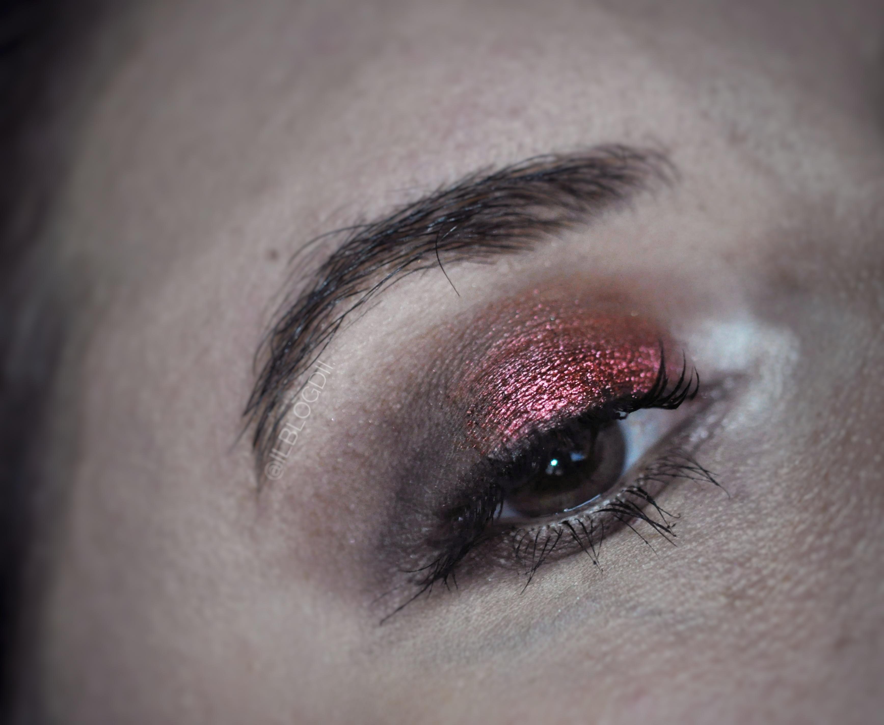 red makeup challenge