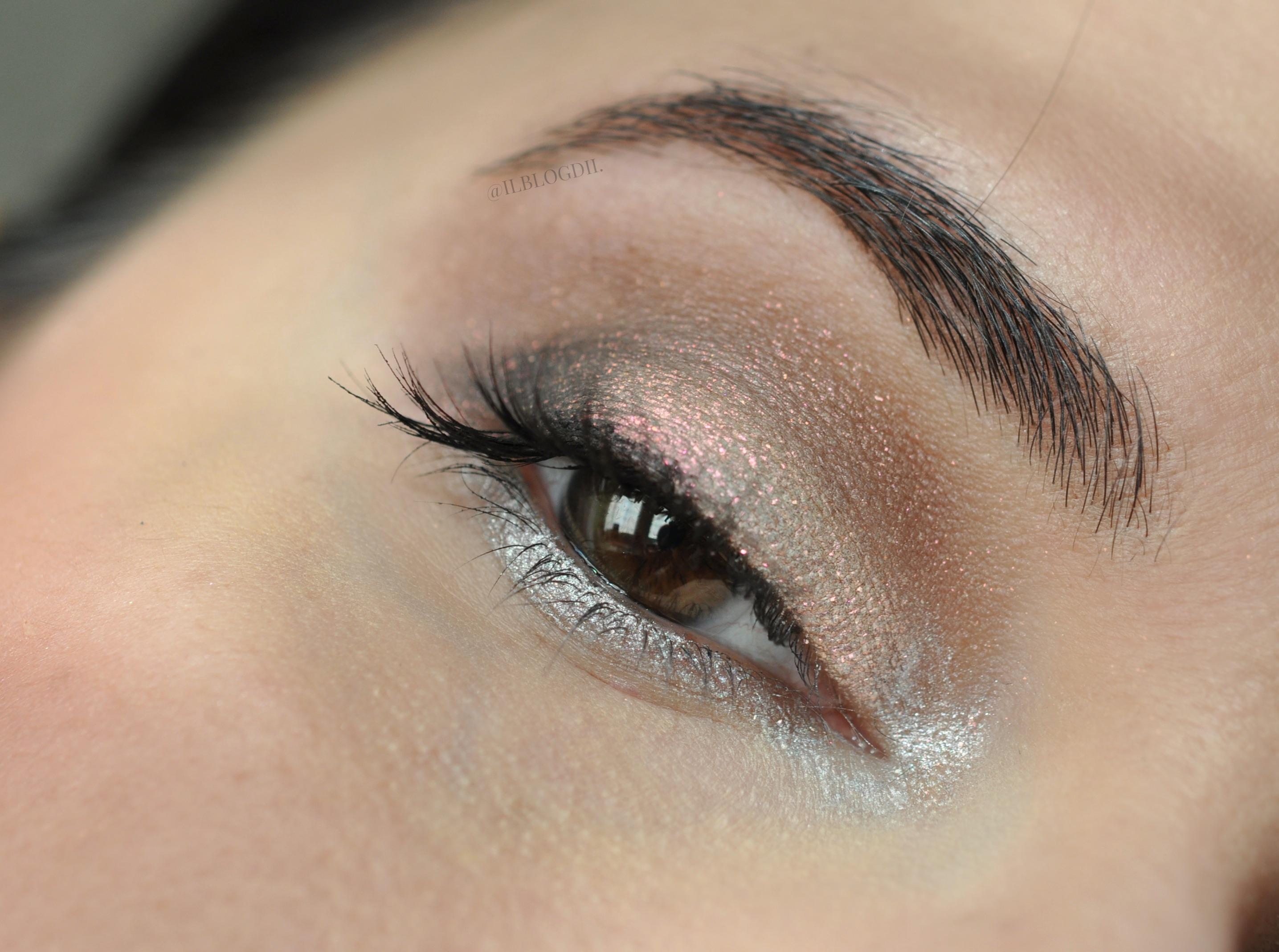 frosty makeup