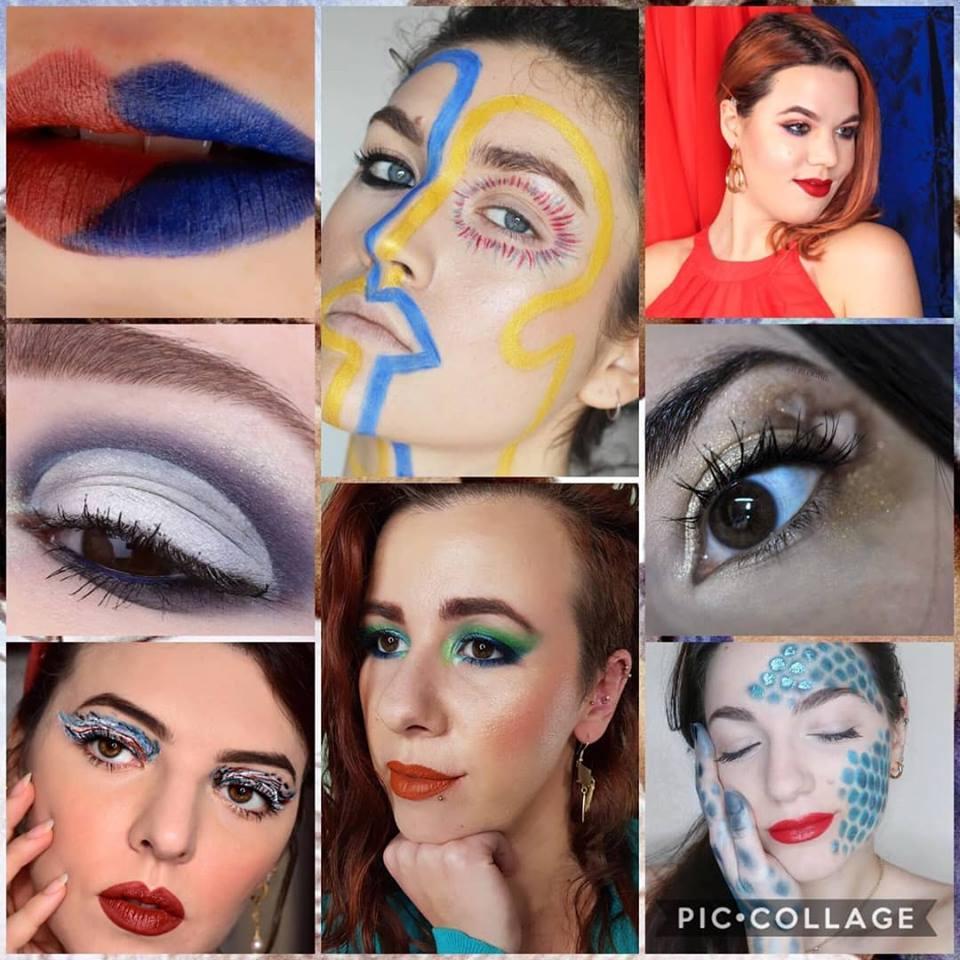 valentine's makeup challenge