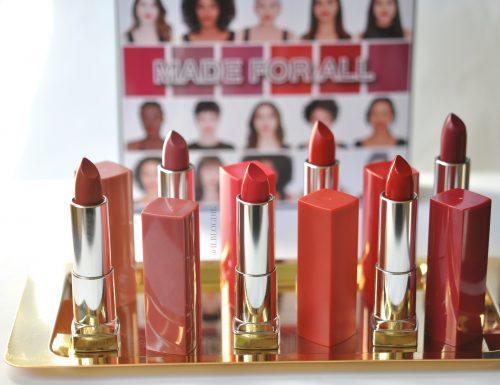Color Sensational Made for All Maybelline | La linea di rossetti pensata per donare a tutti – Review, Swatch & Applicazione