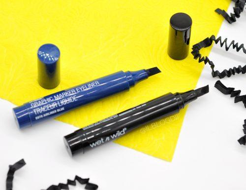 [Review] – Graphic Marker Liner Wet'n Wild Jetliner Black & Airliner Blue + Swatch