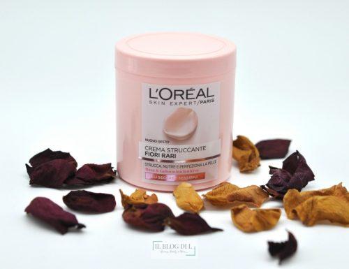 [Review] – Crema struccante Fiori rari L'Oreal