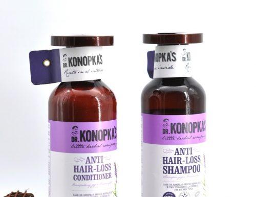 Dr. Konopka's | Shampoo & Conditioner linea anticaduta