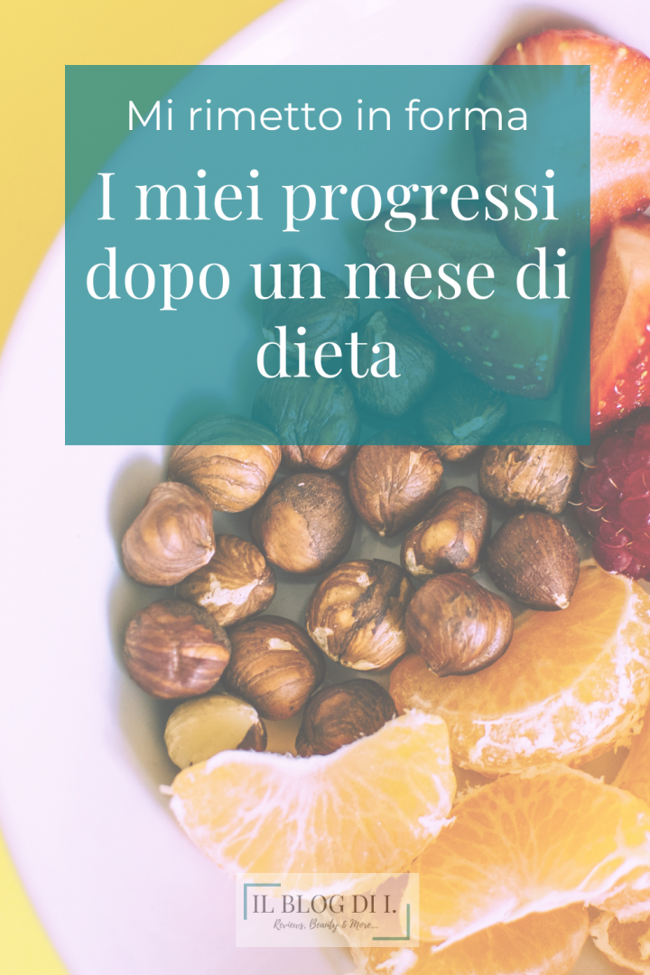 un mese di dieta