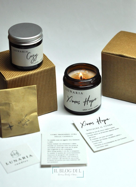 Lunaria candles
