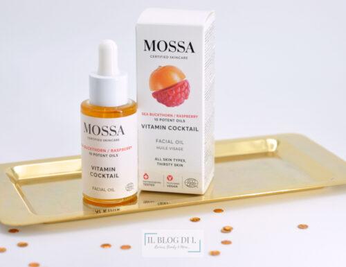 [Review] – Olio viso Vitamin Cocktail Mossa Cosmetics