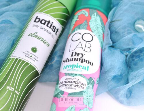 Prodotti mai recensiti e scoperte più o meno recenti | Primer occhi Photofocus Wet'n Wild, Dry shampoo CoLab e Batist, Spray solare Cien 50+